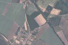 obrázek 2 letecká mapa současná. Zdroj: Letecký snímek z r. 2018 - Mapy.cz