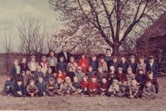 1960_Školní foto Hlízov obě třídy (barevné) červen