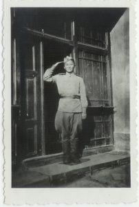 Vojak Rude armady v Hlizove