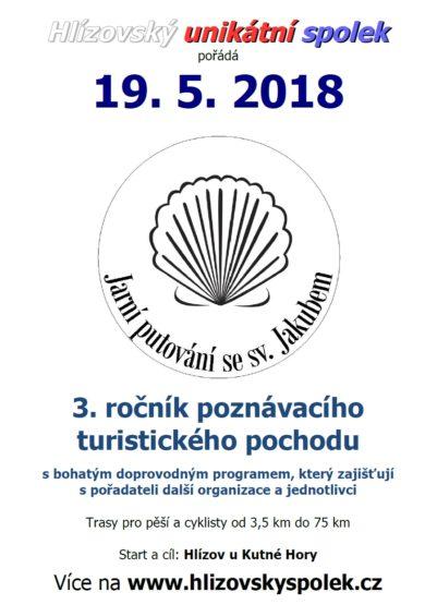 Jarní putování Hlízov 3. ročník pozvánka