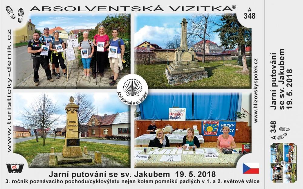 Jarní putování 2018 Hlízov
