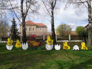 Jarní dekorace Hlízov
