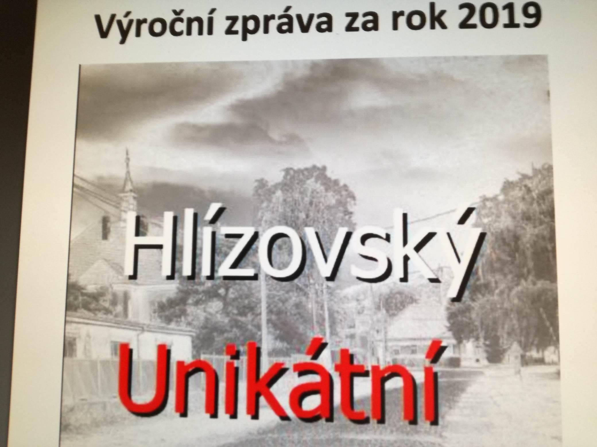 Výroční zpráva za rok 2019
