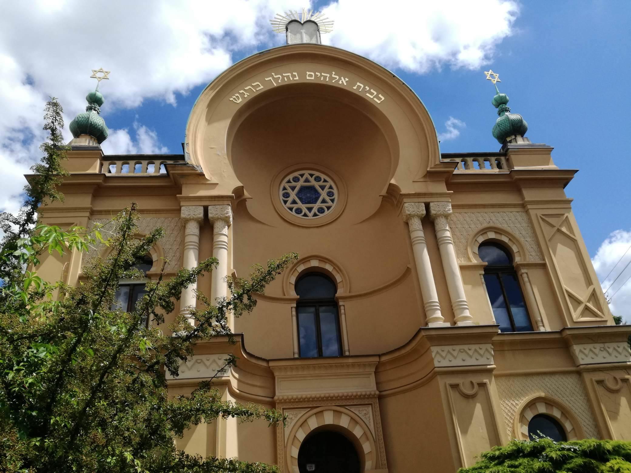 Pozvánka na prohlídku Synagogy v Čáslavi