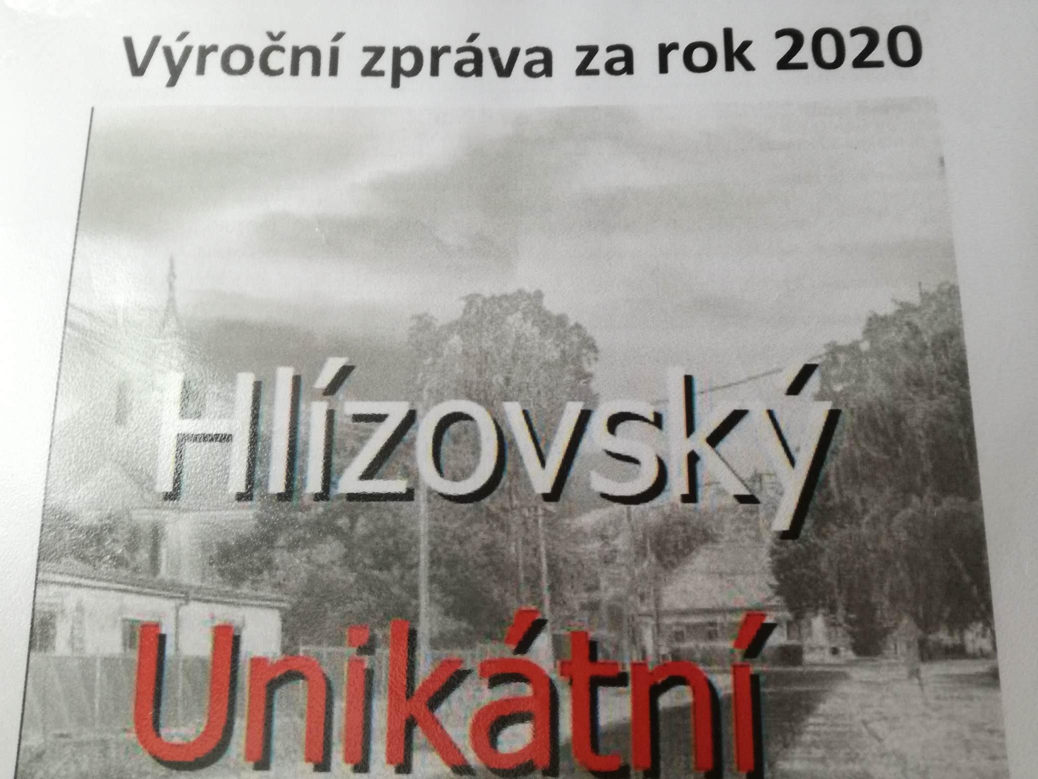 Výroční zpráva za rok 2020