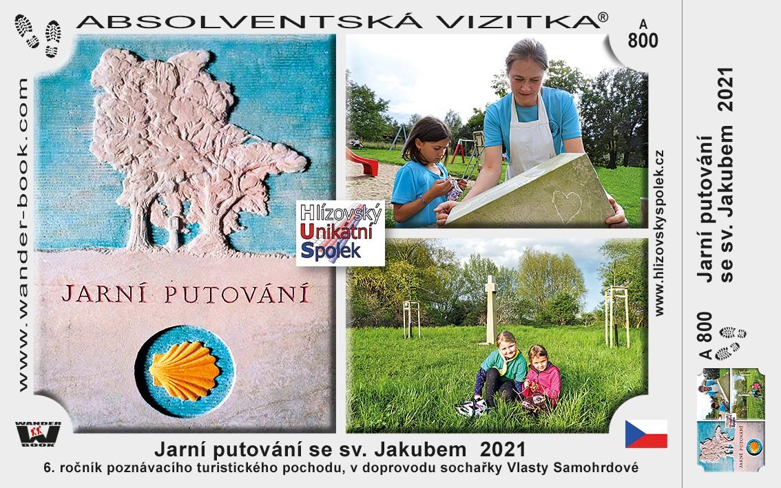 Jarní putování se sv. Jakubem kolem děl sochařky Vlasty Samohrdové celé léto individuálně